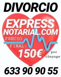Divorcio ante Notario rápido y económico en Madrid